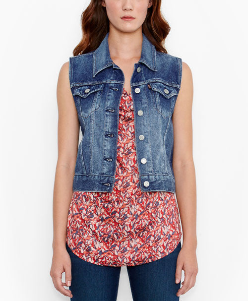 Levi's Denim The Trucker Vest