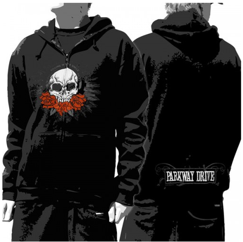 Parkway Drive Hoodie Killing With A Smile - Unisex Zip
