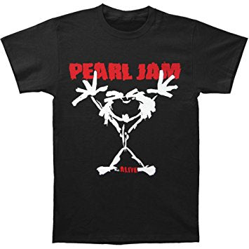 Pearl Jam Alive Black Tee Famous Rock Shop Newcastle 2300 NSW Australia