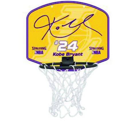 Spalding NBA Player Mini Backboard set - Kobe Bryant