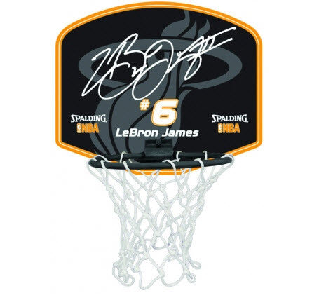 Spalding NBA Player Mini Backboard set - Lebron James