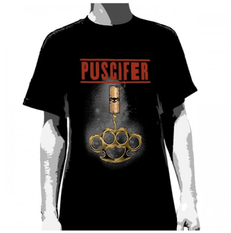 Puscifer T-Shirt Knuckle Corkscrew - Men's