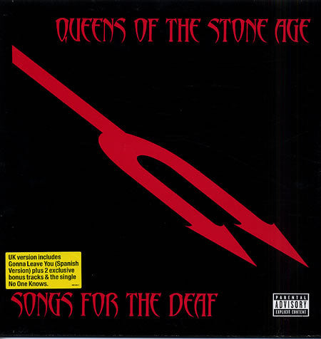 Queens Of The Stone Age ‎– Songs For The Deaf Vinyl