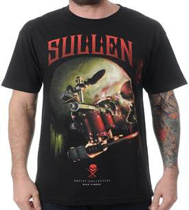 Sullen Richiebon Men's T-Shirt - Black