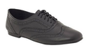 Roc Tempt Black Leather Brogue
