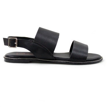 Therapy Haven Black Sandal