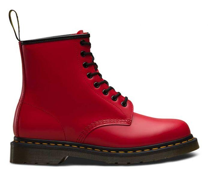 Dr Martens 1460 8 Eye Boot Satchel Red Smooth 24614636 Famous Rock Shop Newcastle 2300 NSW Australia2