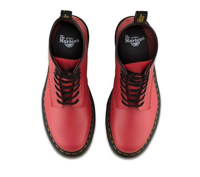 Dr Martens 1460 8 Eye Boot Satchel Red Smooth 24614636 Famous Rock Shop Newcastle 2300 NSW Australia3