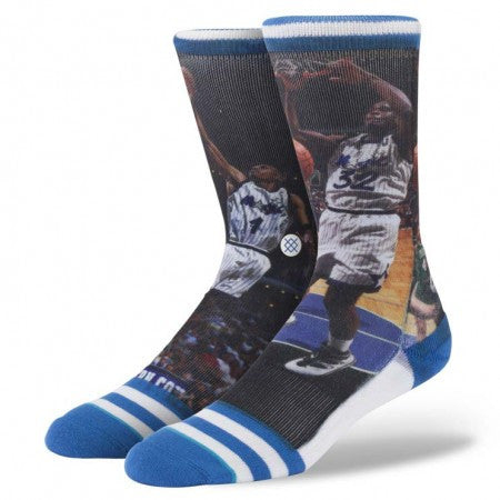 Stance Shaquille O'Neal/ Anfernee Hardaway Magic Socks NBA Legends Collection