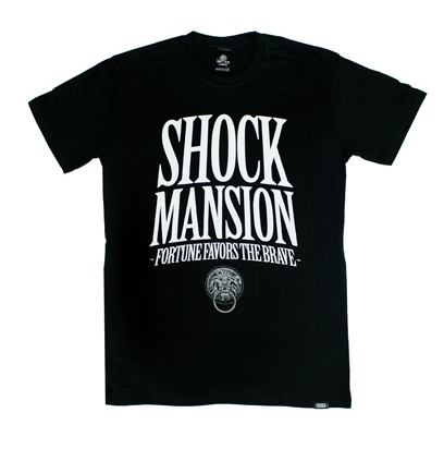 Shock Mansion T-Shirt Fortune Black