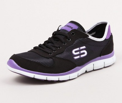 Skechers Sport Gratis Rock Party Black/Purple  Famous Rock Shop. 517 Hunter Street Newcastle, 2300 NSW. Australia.