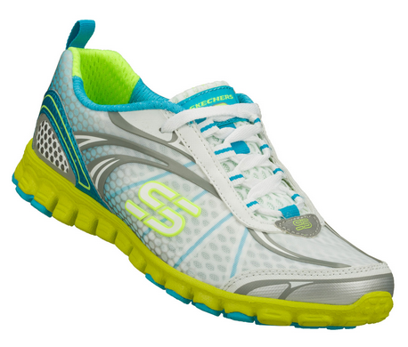 Skechers Sport  Ez Flex Barbed Wire White/Blue/ Yellow