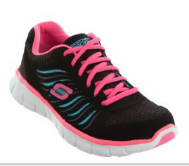 Skechers Sport  Synergy Black/Blue/ Fluro Pink