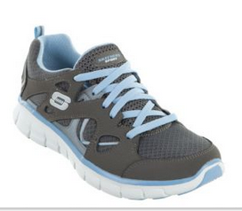 Skechers Sport  Synergy Ultimatum Charcoal/Light Blue