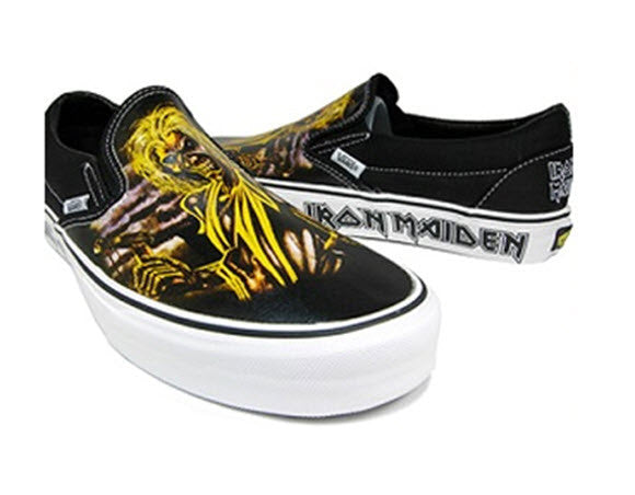Vans Iron Maiden Killer Slip-On