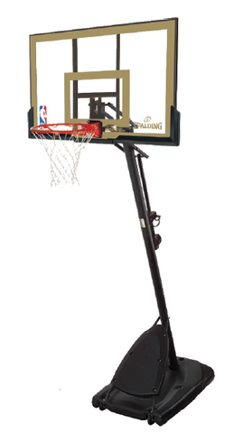 Spalding Basketball Hoop Gold Portable