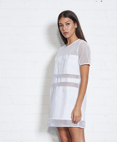 Nana Judy Starliner Dress White NW1042