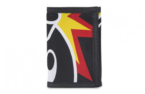 The Hundreds Adam Tri-Fold Black Wallet