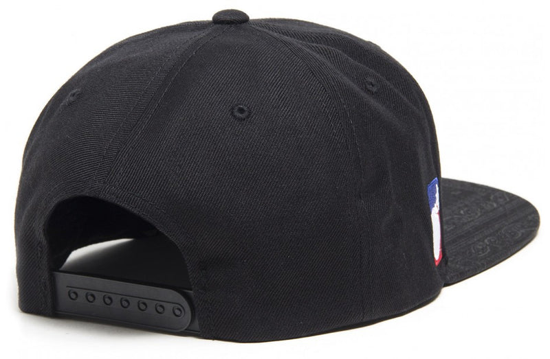 The Hundreds Forever Team Black Snapback