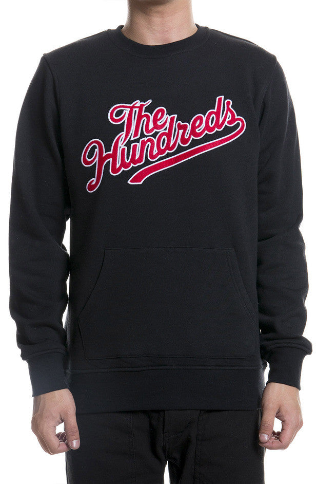 The Hundreds Classless Crewneck Black/ Red