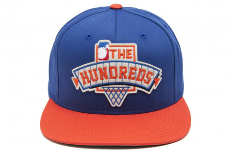 The Hundreds Draft Blue Snapback Cap
