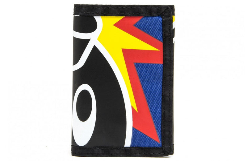 The Hundreds Adam Tri-Fold Blue Wallet