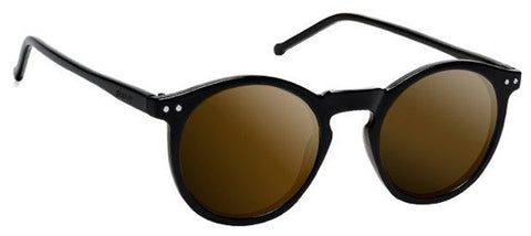 Glassy Sunhaters Tim Tim Black Brown Polarized Sunglasses