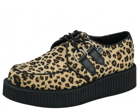 Tuk Creeper Leopard Low Sole