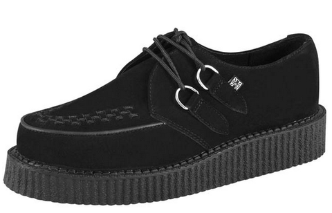 TUK Creeper Low Black Suede A7270