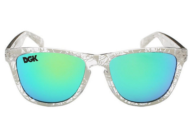 DGK Vacation Sunglasses Humboldt/Mirror Lens