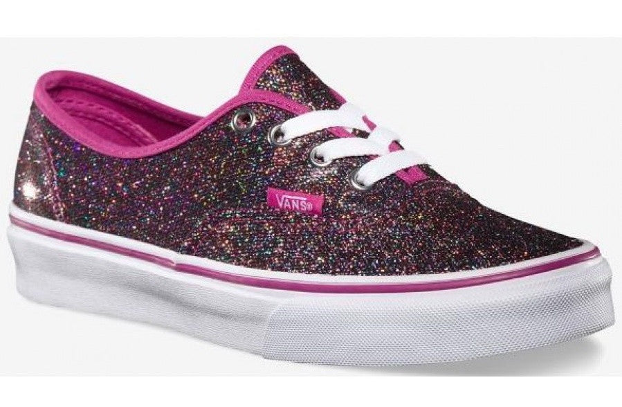 vans glitter authentic