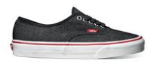 Vans Authentic (Denim) Black/True White