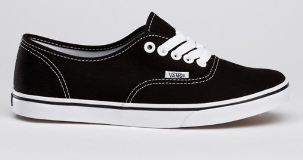 4d76af9eb4d415 Vans Authentic Lo Pro Black True White Canvas Famous Rock Shop Newcastle  2300 NSW Australia