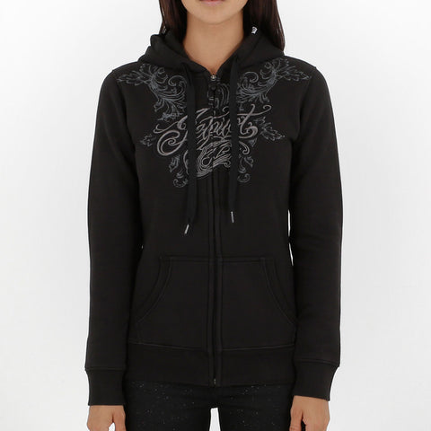 Jetpilot Propagnda Girls Zip Up Hoodie