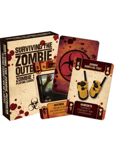 Zombie Survival 2 Playing Cards