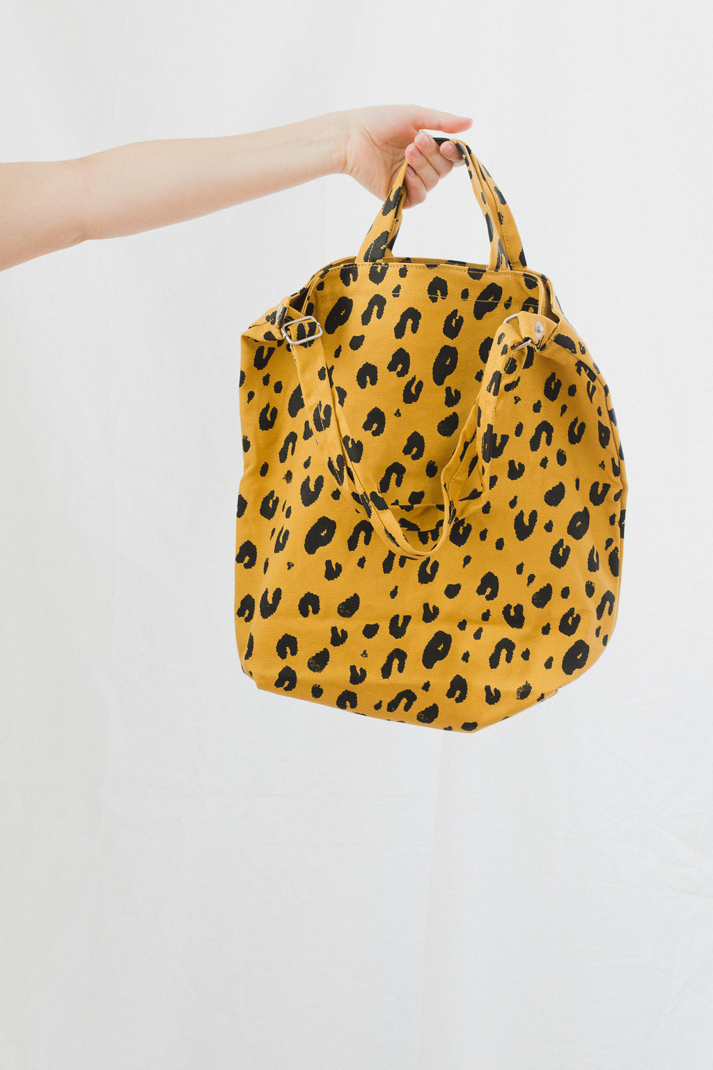 Duck Bag in Leopard