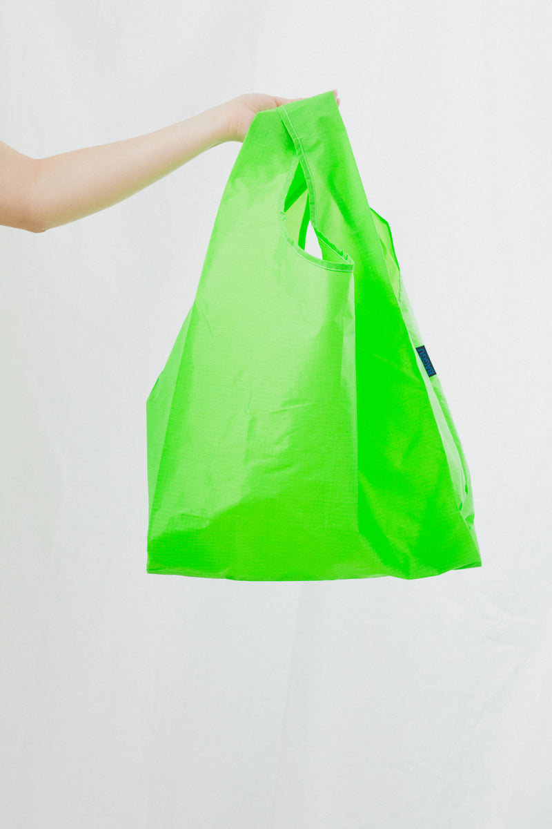 Standard Tote in Neon Green
