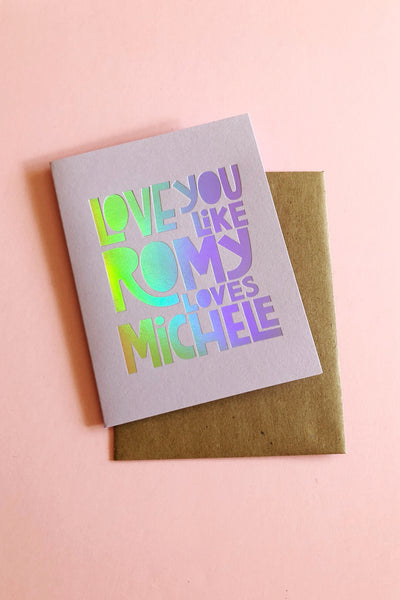 Romy + Michelle Cards The Good Twin - Hello Holiday