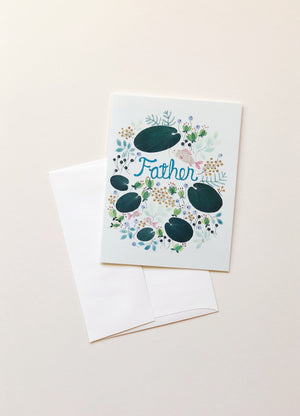 Lily Pad Father's Day Card Cards Red Cap Cards - Hello Holiday