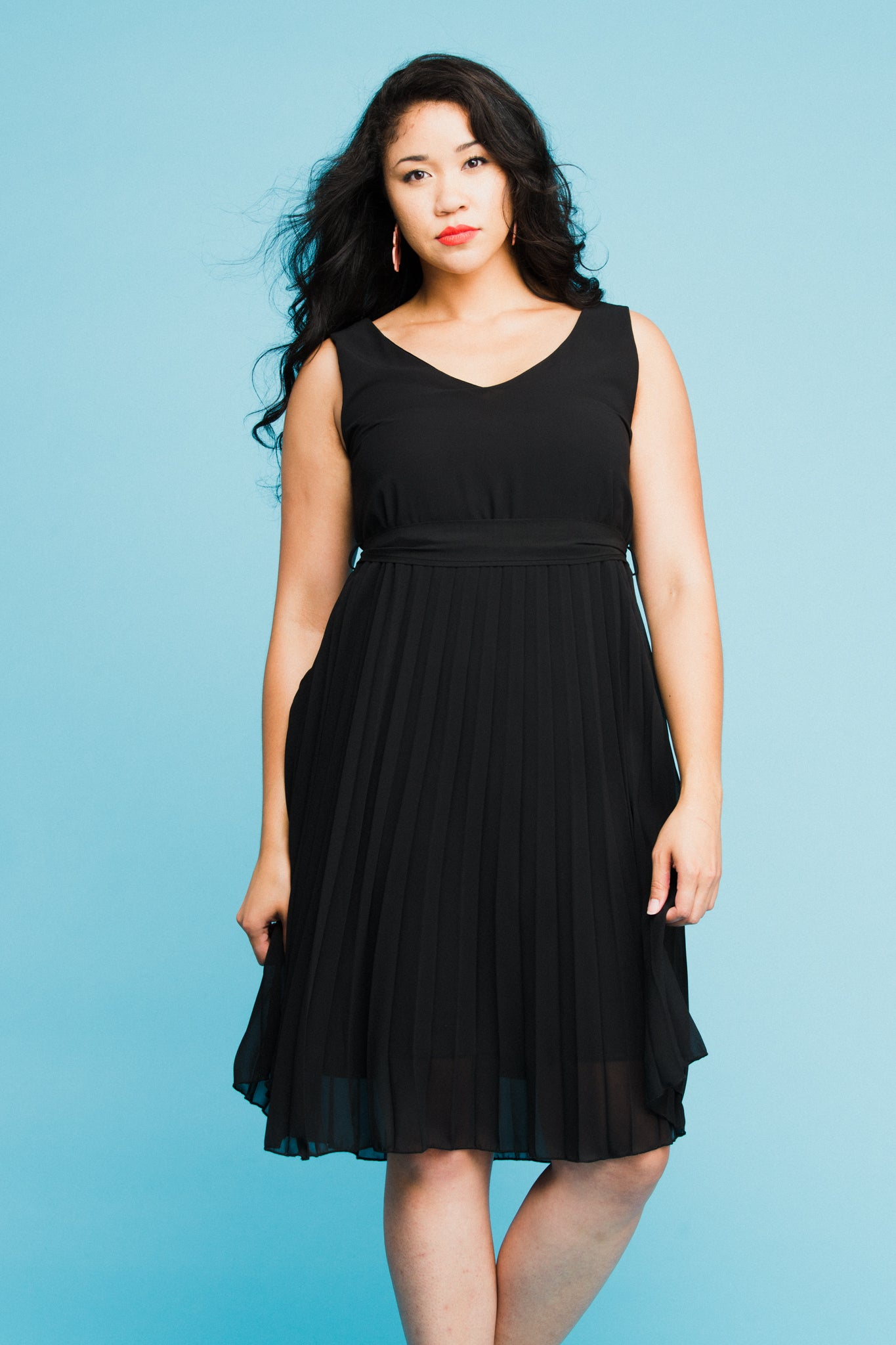 Luna Dress in Black
