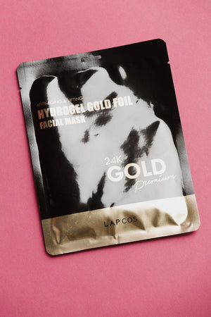 24k Gold Hydrogel Foil Facial Mask