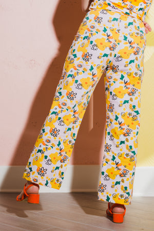 Casual Bell Vittoria Floral Pants