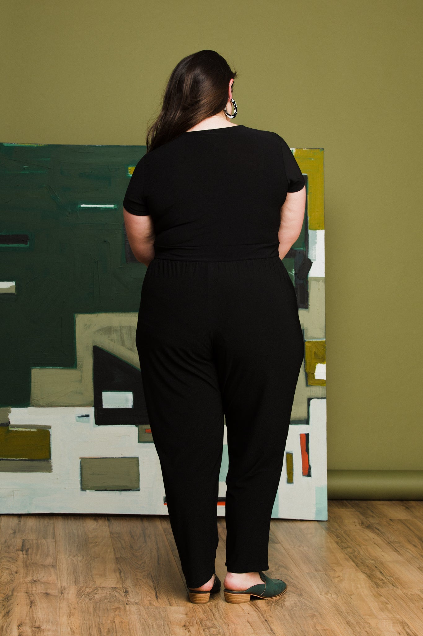Judy Jumpsuit in Black