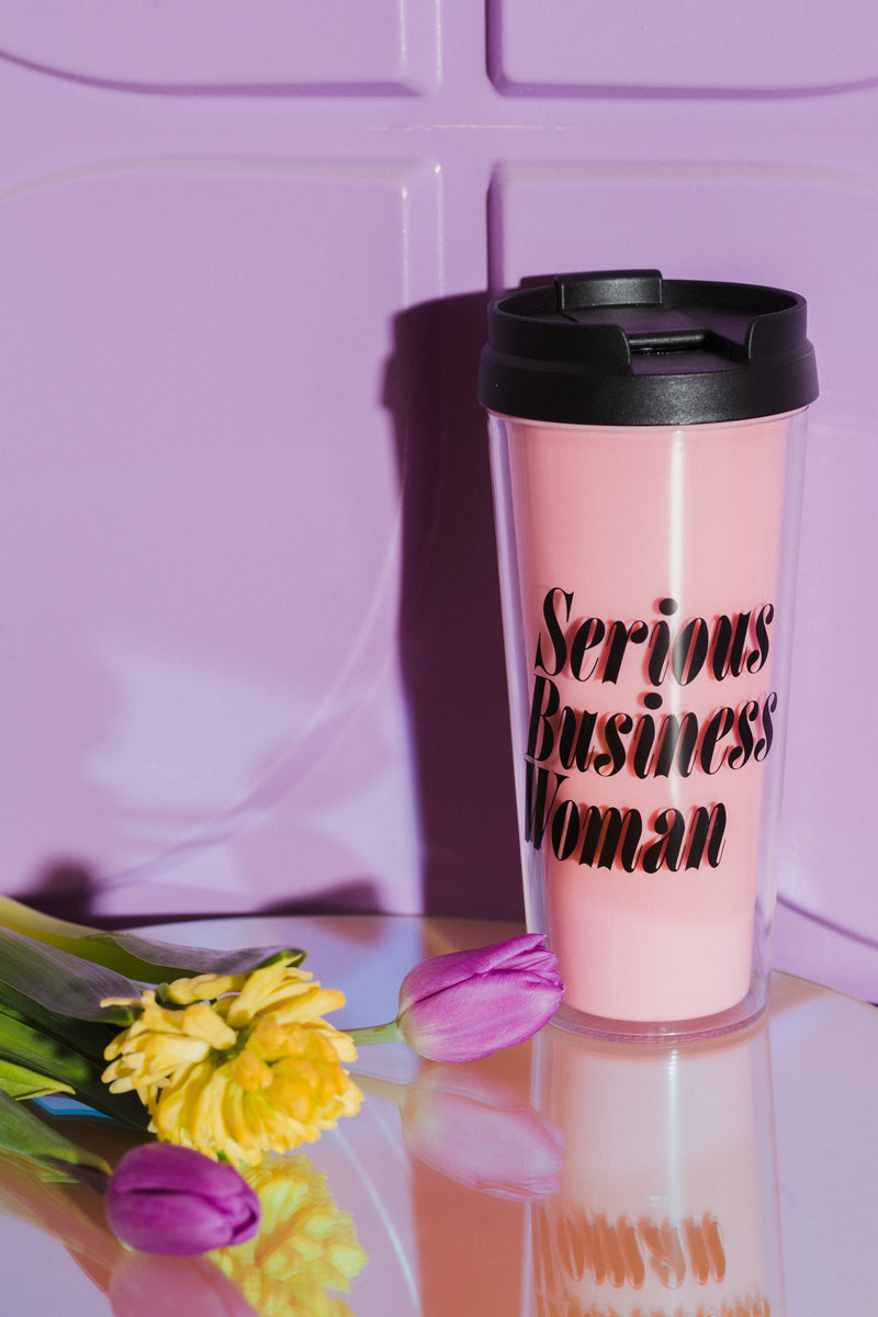 Serious Business Woman Mug