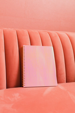Pearlescent Mini Notebook