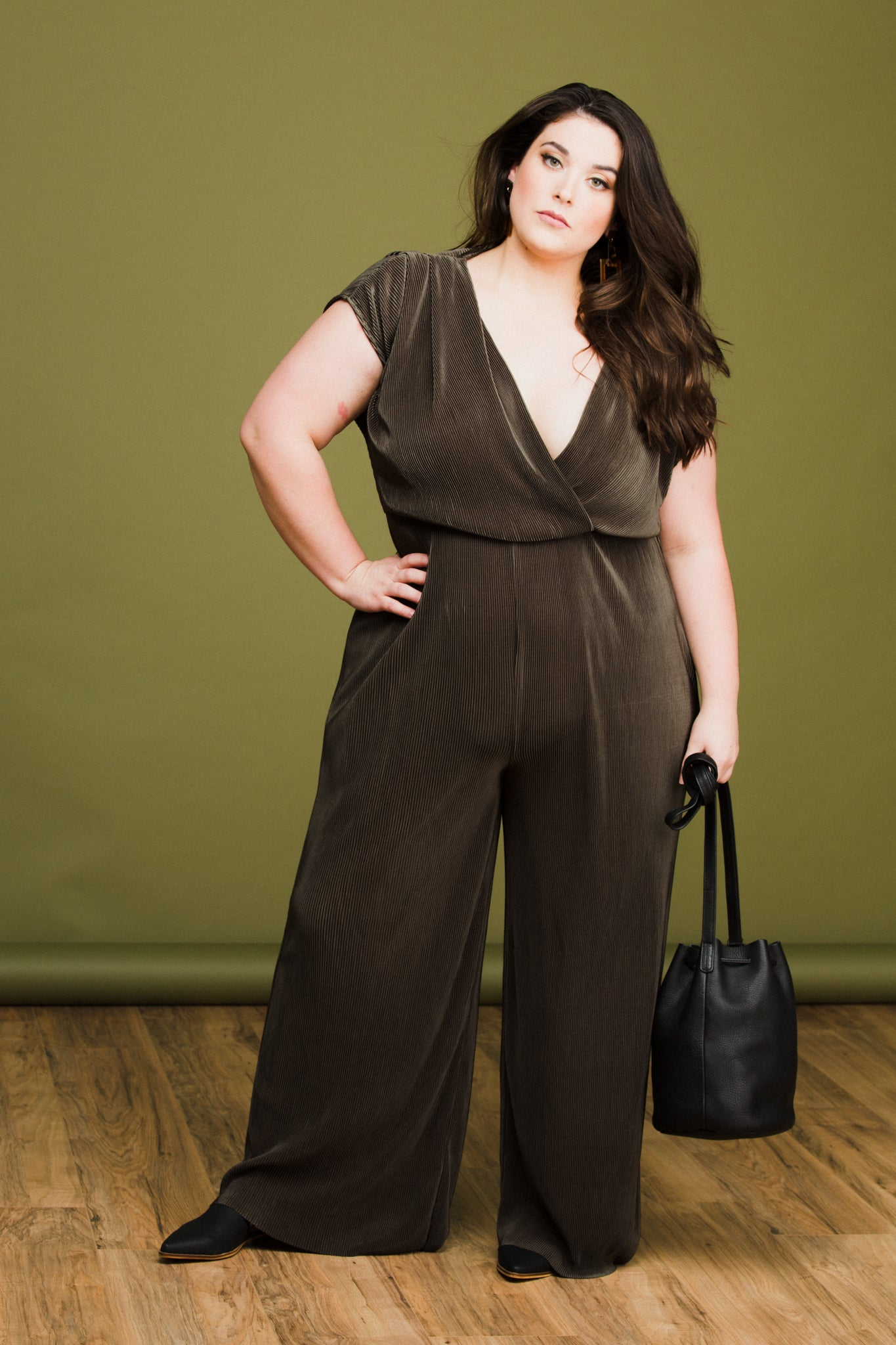 Fern Jumpsuit in Leaf
