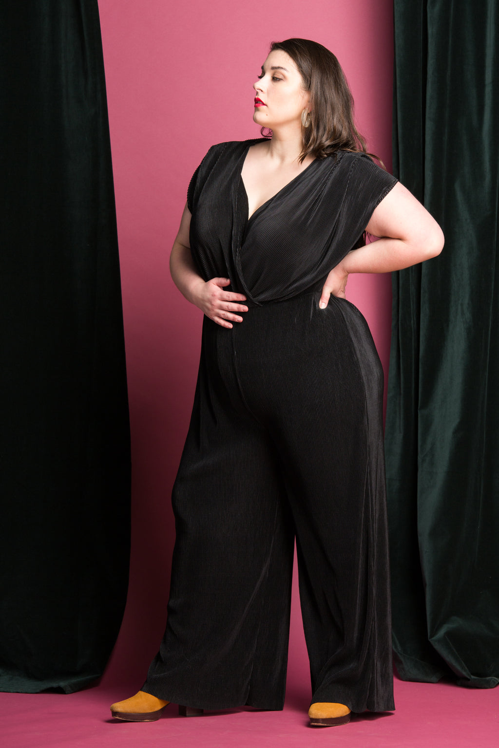 Fern Jumpsuit in Black