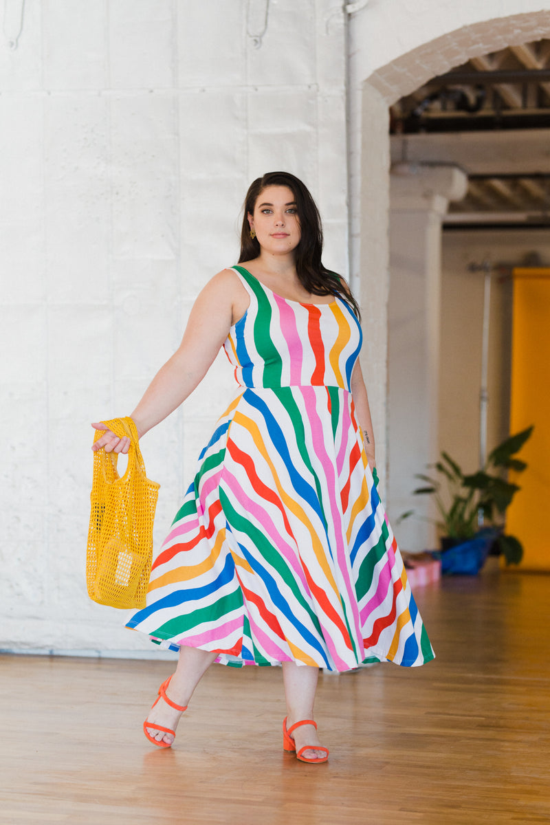 Salvation Stripe Vacation Dress