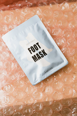 Peppermint Foot Mask