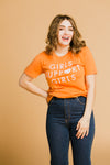 Girls T-Shirt in Orange